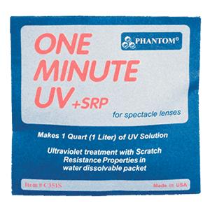 Phantom One Minute UV +SRP for spectacle lenses packet