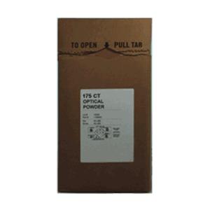 175 Grit SST Aluminum Oxide Optical Powder in a cardboard box.