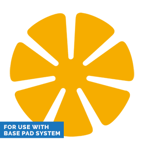 Yellow Supreme 83mm 7 Petal Polishing Pad