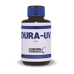 DURA-UV Lens Coating for the Velocity Spin Optical Lens Coater.