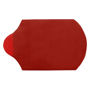 18x29mm Half-Eye Solid Center Red - 1000