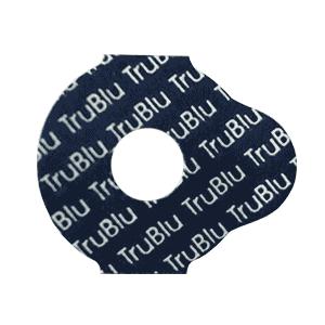 TruBlu lens edging pad - 24mm round