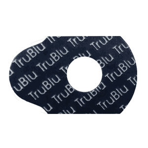 Tru Blu edging pads for ophthalmic lenses. Manufactured by Coburn Technologies, the leading provider of ophthalmic equipment for all phases of lens processing.